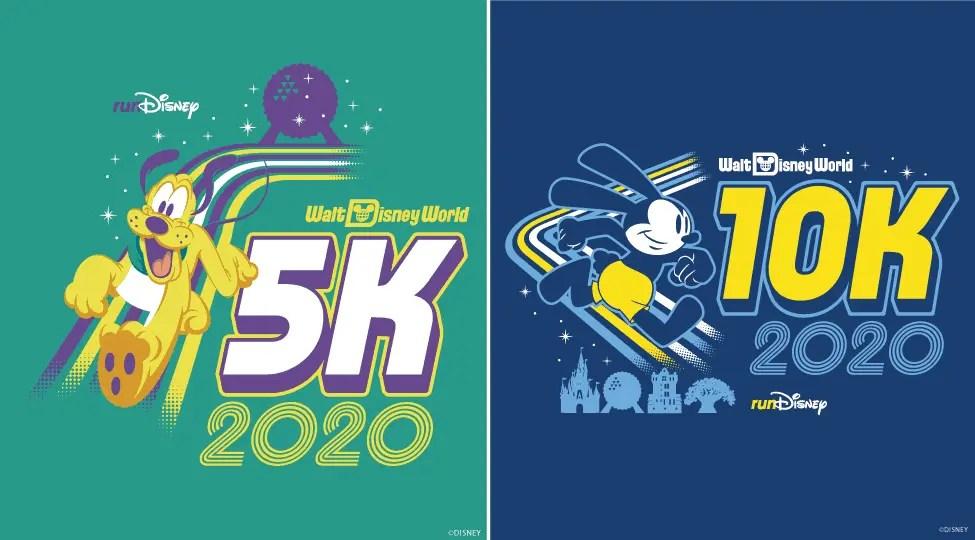 disney World marathon 5k 10k logo