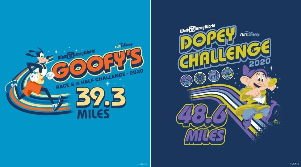 Disney World Marathon Themes Dopey Goofy