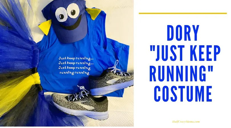 How to make a Dory themed just keep running tank top
