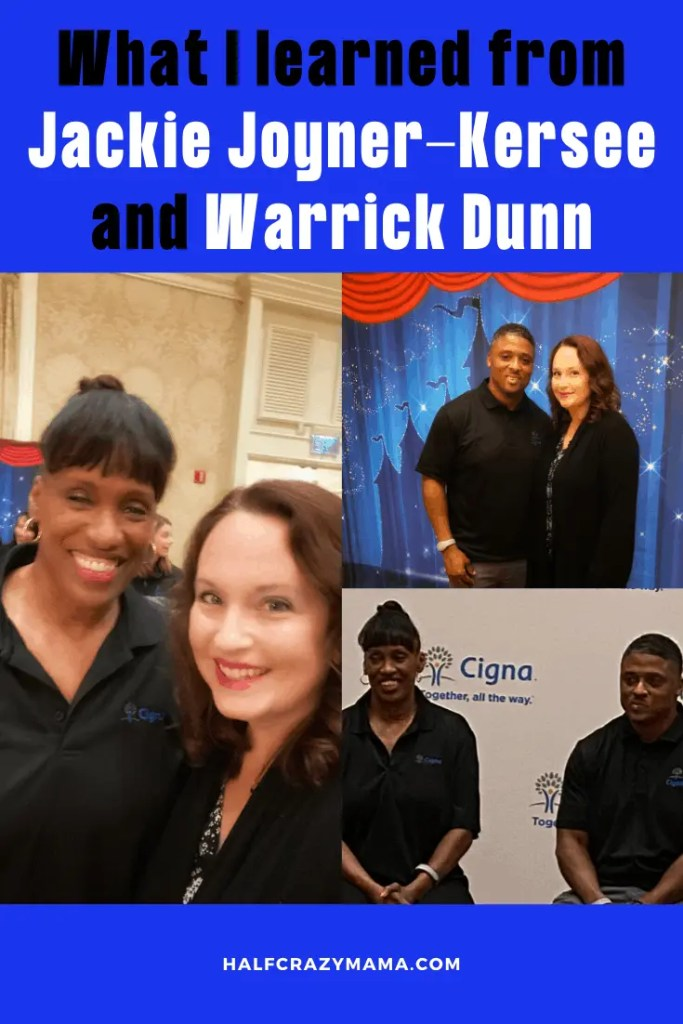 What I learned from Jackie Joyner-Kersee and Warrick Dunn