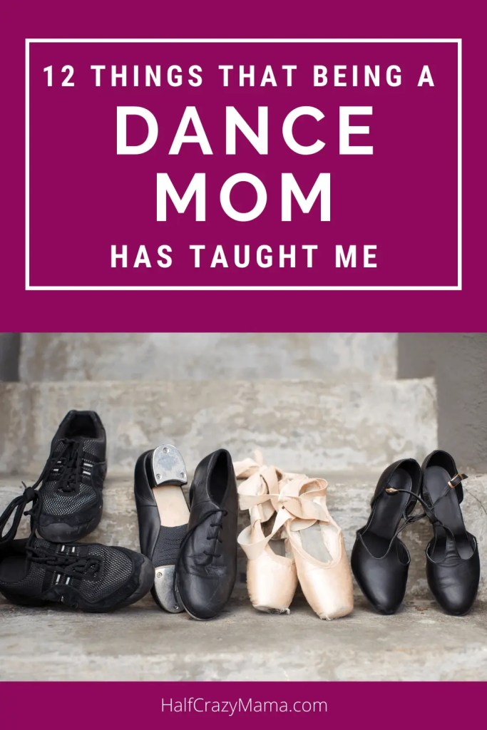 dance shoes on steps