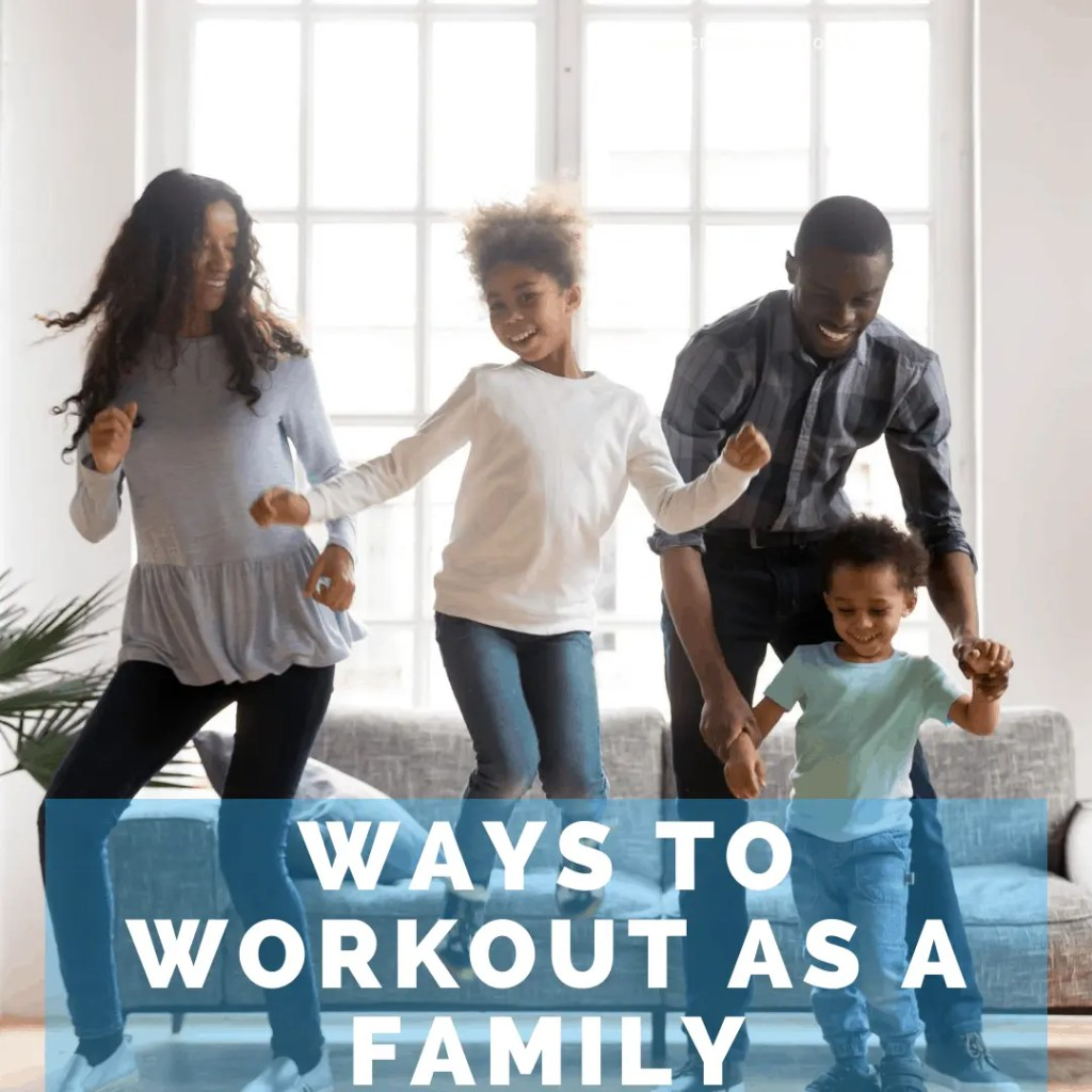 family dancing i living room
