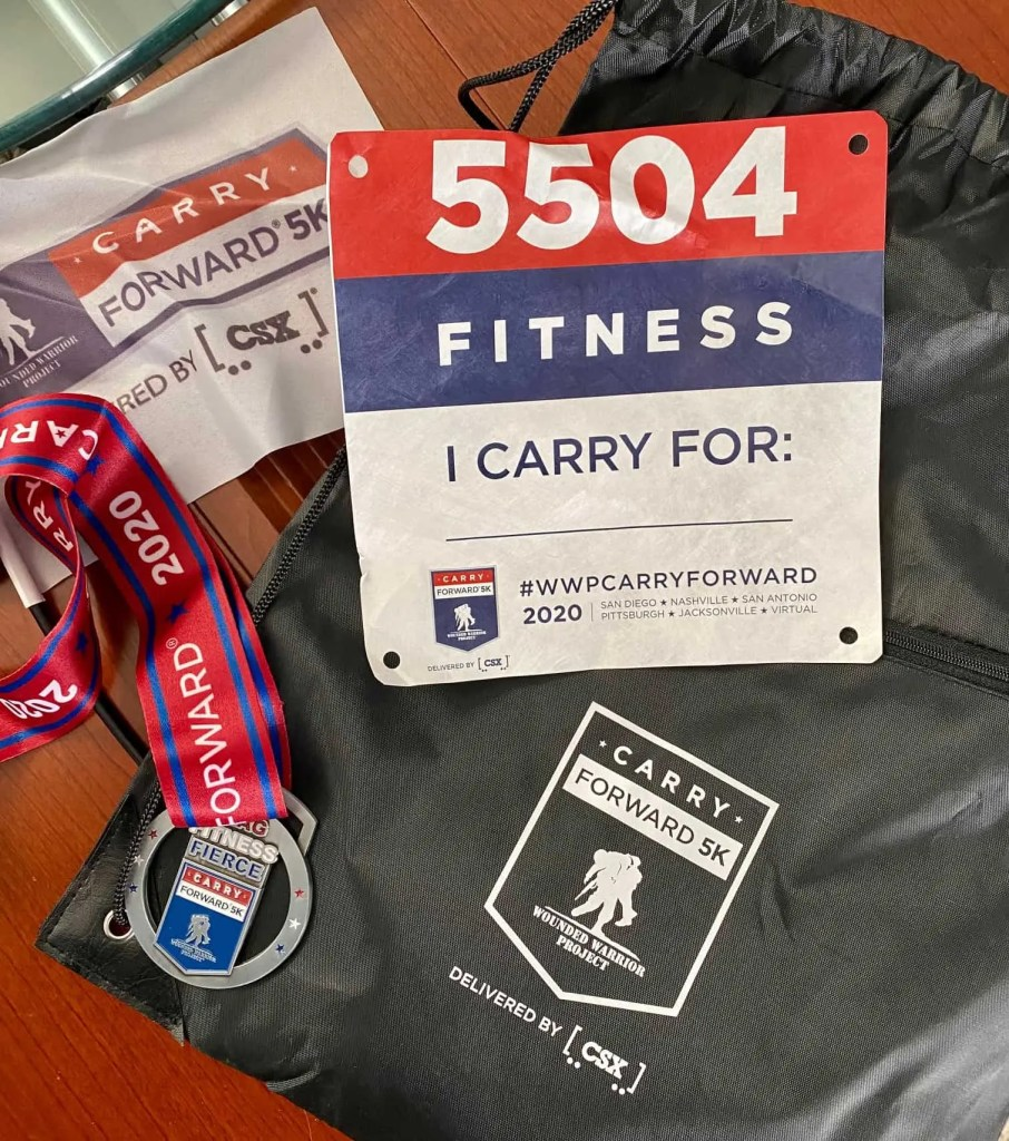 WWP Carry Forward 5k swag