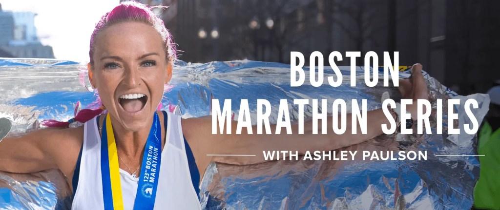 boston marathon runner female