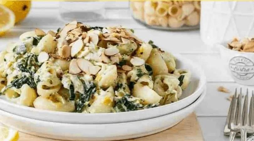 chicken pasta in a big bowl