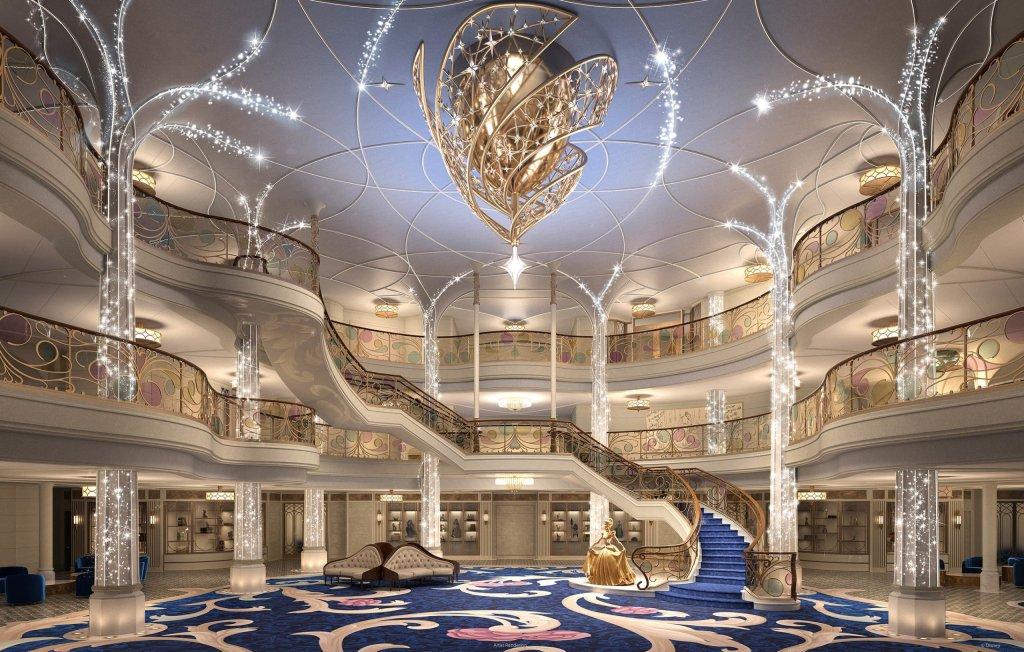 Disney Cruise SHip Grand Hall