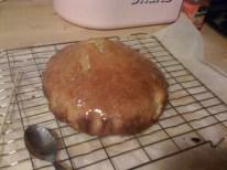 Rum Cake with glaze