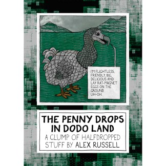 The Penny Drops In Dodo Land front cover (digital original version).