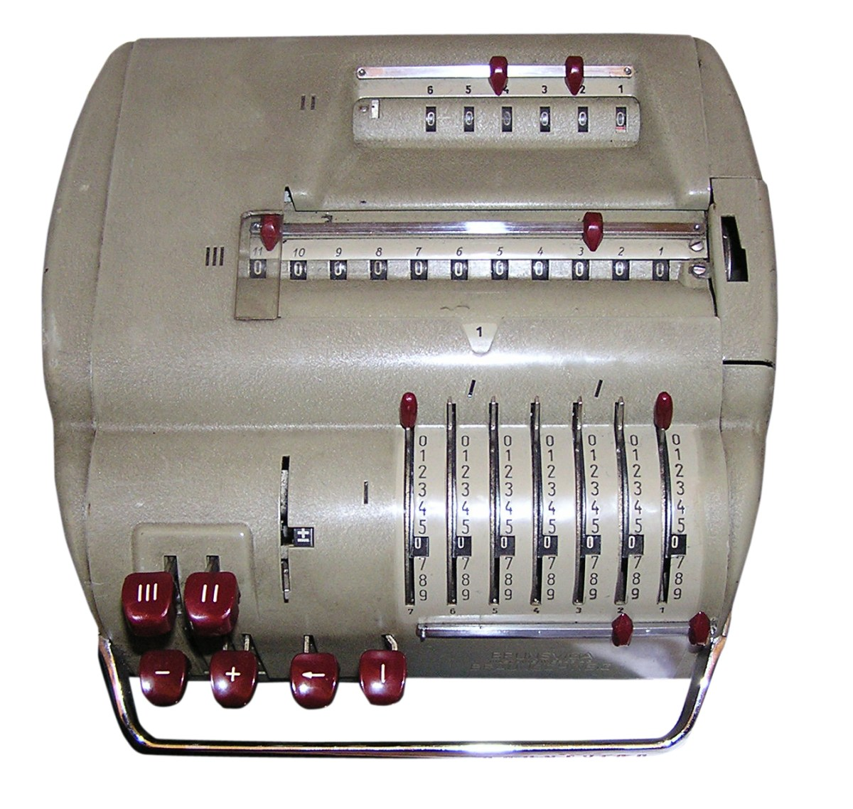 A number roll 'machine'