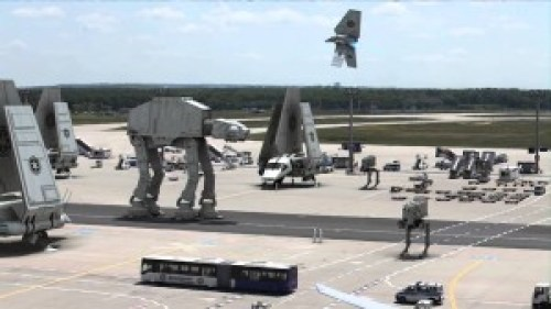 star wars parking lot
