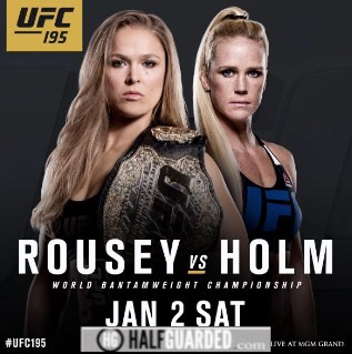 UFC 194 poster