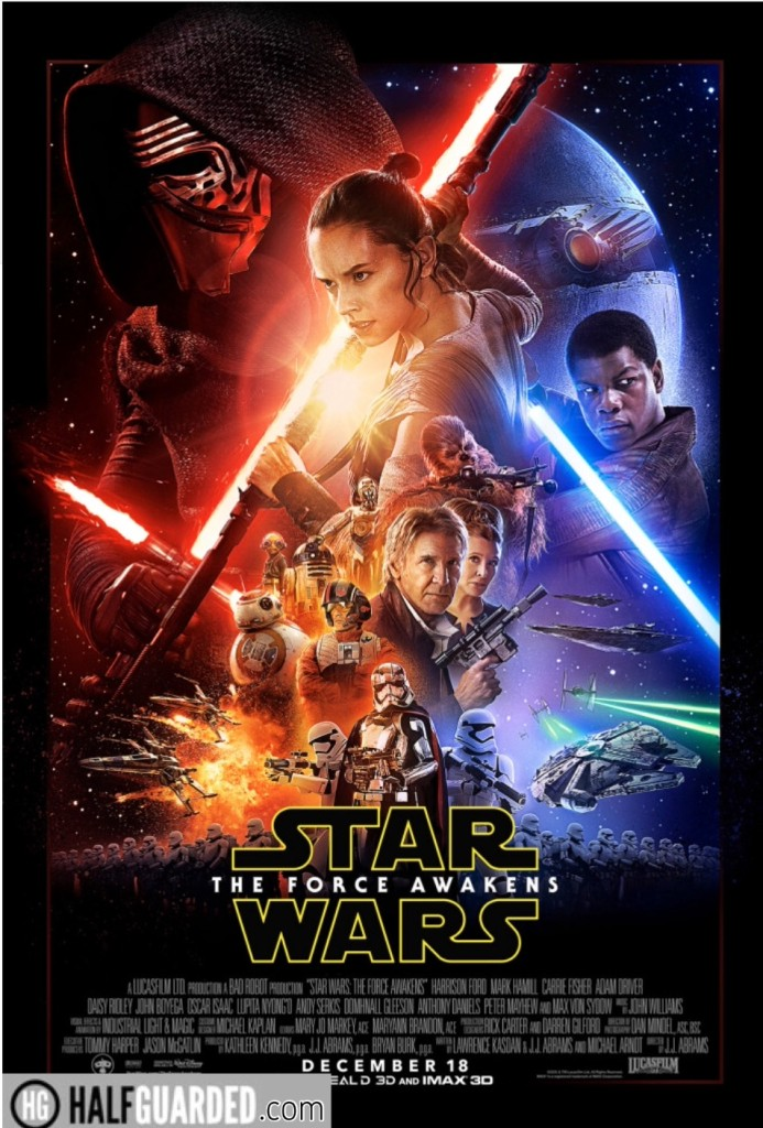 Star Wars Episode Seven poster