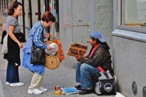 That homeless guy looks like he's got it pretty good. Fuck him...