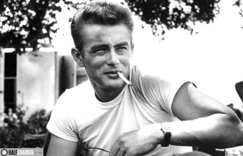 james dean smoking is cool
