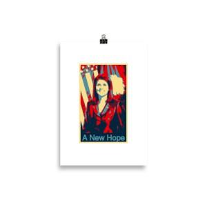 Nikki Haley Hope Poster