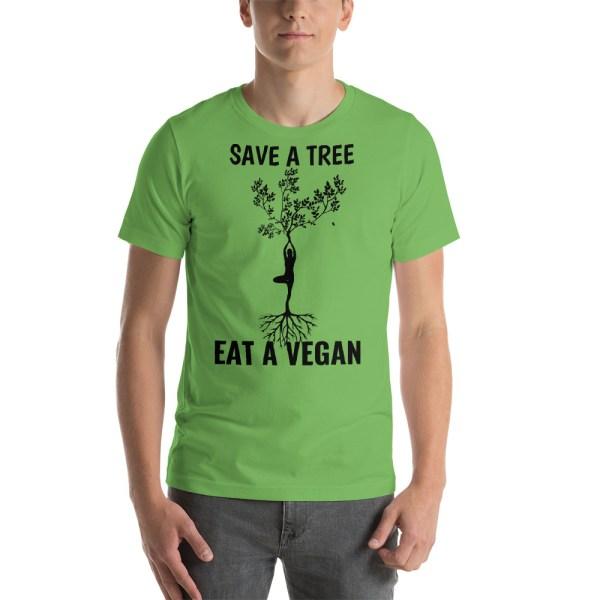 save a tree eat a vegan t shirt