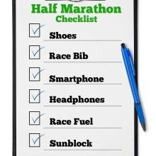Half Marathon Checklist