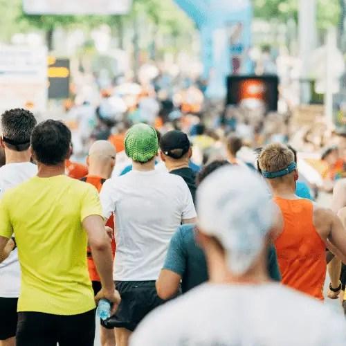 Large or Small Half Marathon Race Size