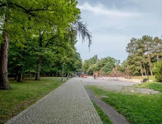 Royal Park Stromovka (Královská Obora Stromovka) in Prague, Czech Republic
