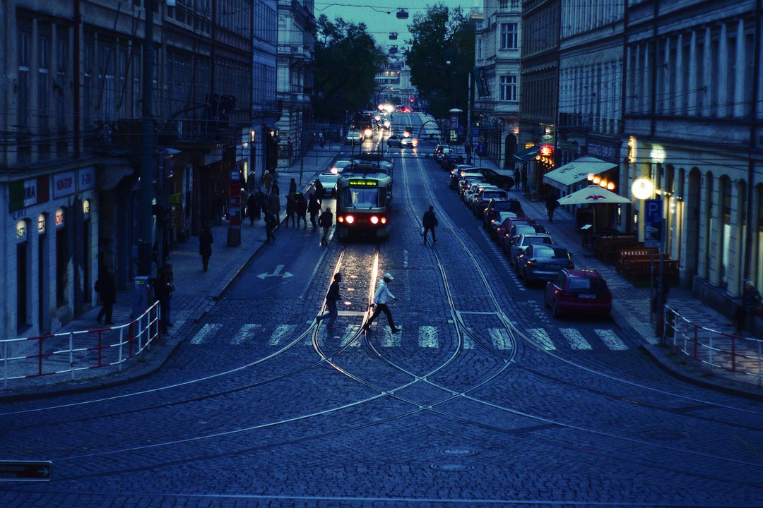 Road, pedestrian crossing, tram and car HD photo by Bence Kiss-Dobronyi (@iecs) on Unsplash