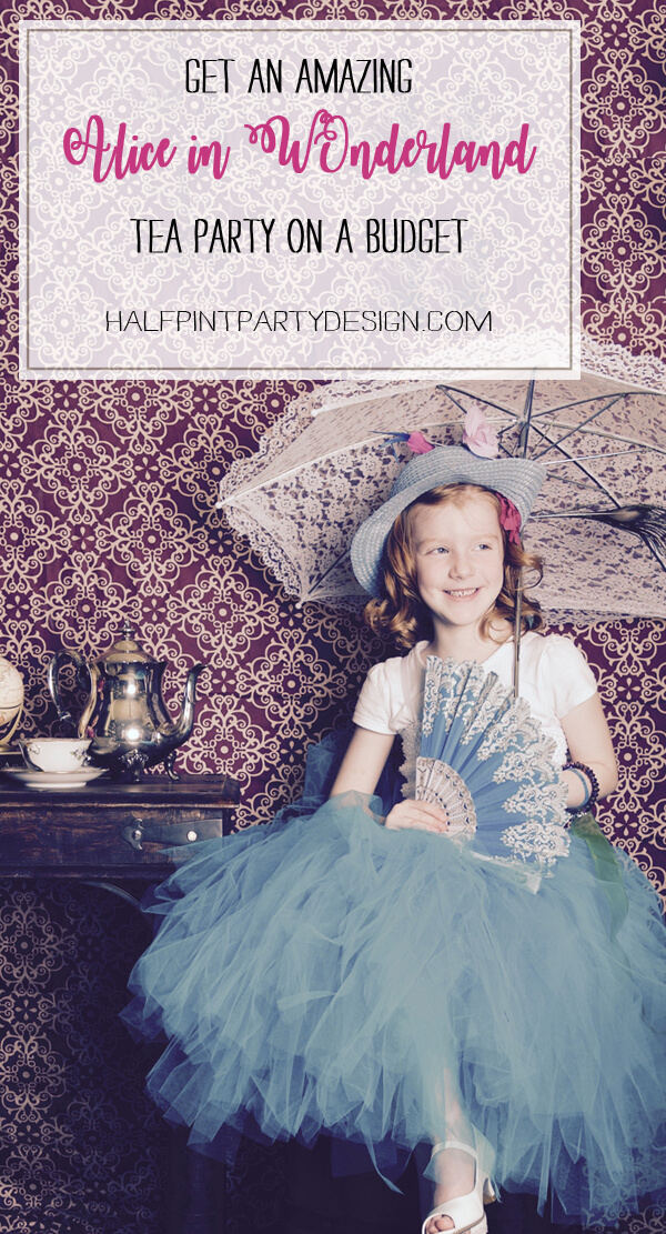 Alice in Wonderland party sources | Halfpint Design - Make your next tea party a breeze with this awesome source list with links to activity ideas and even a tea party gift list!