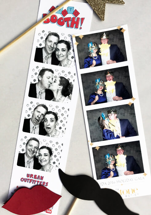 Being able to laugh and not take each other seriously is really important for a realtionship. We take advantage of photo booths whenever we can! The worst valentine's date ever   Halfpint Design