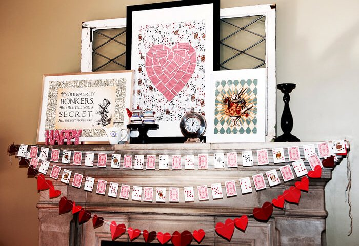 Queen of Hearts Art DIY