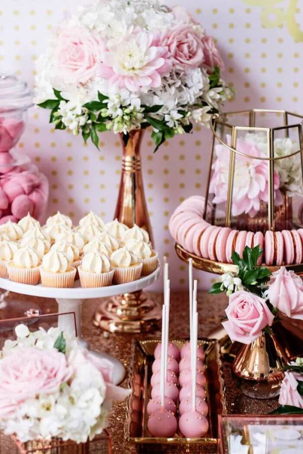"""Copper and rose gold are so hot. Copper is poised to grow even stronger. Top party trends for 2017: No theme party using pattern and color. Confetti balloons are seriously the BEST! Can you imagine how fun that will be at your next event!? Top party trends of 2017: Have a """"No theme"""" party with pattern and color. Pattern Party Trend 