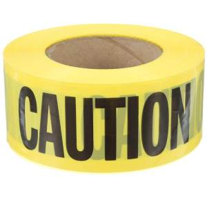 Construction Party Sources | Halfpint Design - Caution - Cuidado tape for decoration, roping off an area, streamers, etc.
