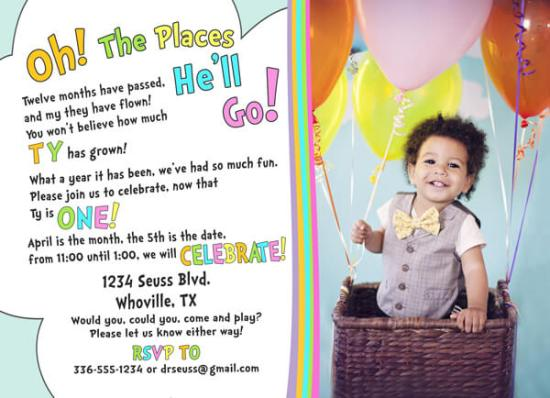 """Party by Numbers: ONE 