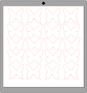 DIY Butterfly Party Favor   Halfpint Design - Butterfly SVG cut file of simple butterfly