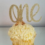 A Passion for Purple   Halfpint Design - Custom cake and cupcake toppers, use a name, number, or greeting.