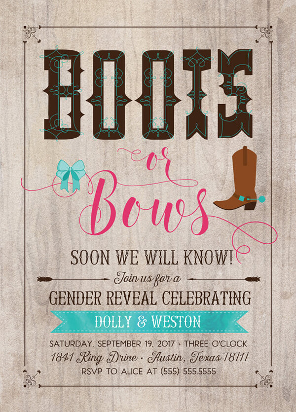 Humorous Gender Reveal Party Ideas - Halfpint Party Design