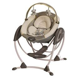 16 Best Baby Shower Gifts for Mom | Halfpint Design - This baby swing gets great reviews and is a pretty decent price. It only goes in one direction but you can plug it in or use batteries. There is a vibrating seat function and several programmed classical music and nature sound options. A great swing is invaluable for nap time!