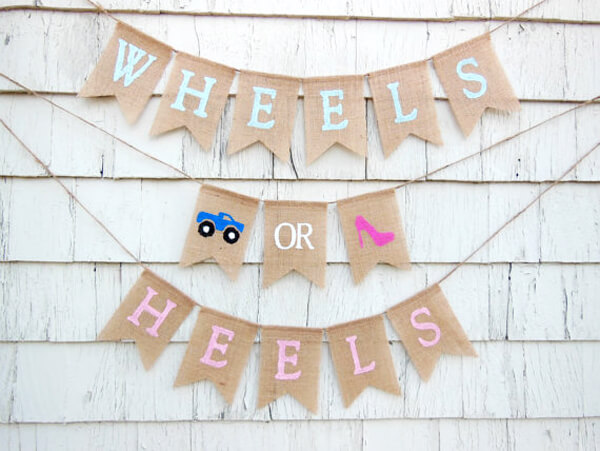 Wheels or Heels Gender Reveal Party Ideas | Halfpint Design - Wheels or Heels? Monster trucks and high heels are a hilarious combination if you ask me.