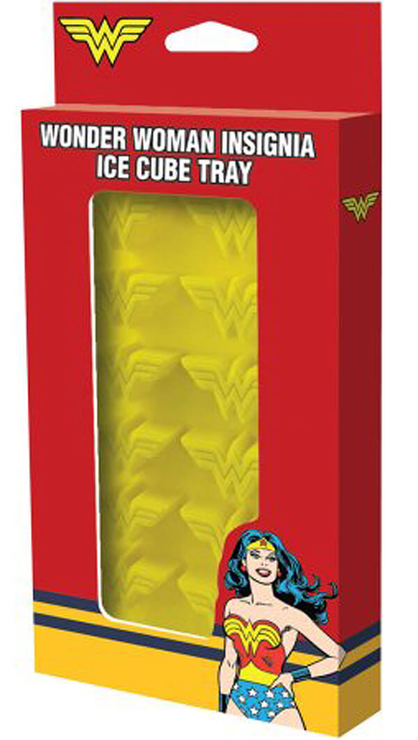 Wonder Woman Ice cube trays can add pizzazz to drinks. Wonder Woman Party Food | Halfpint Design, party ideas, party themes