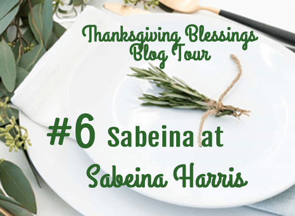 Thanksgiving Blessings Blog Tour #5 Bri at Halfpint Design, then hop on over to Sabeina at Sabeina Harris - A blog tour full of Entertaining, decor, and recipe ideas.