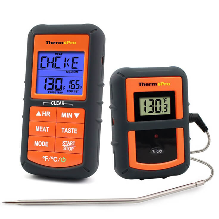 Have a difficult man in your life making gift buying a headache? Keep the grill master happy with a digital BBQ thermometer. For more great ideas check out the Ultimate Gift Guide for the Man who has Everything at Halfpint Design. Christmas gift ideas, men's birthday gift ideas.