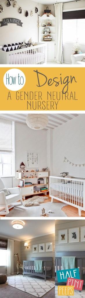 How to Design A Gender Neutral Nursery  Gender Neutral Nursery, Nursery Ideas, DIY Nursery Ideas, Nursery Hacks, Baby Nursery, Baby Nursery Design, Popular Pin. #BabyNursery #DIYNurseryIdeas #GenderNeutralNursery