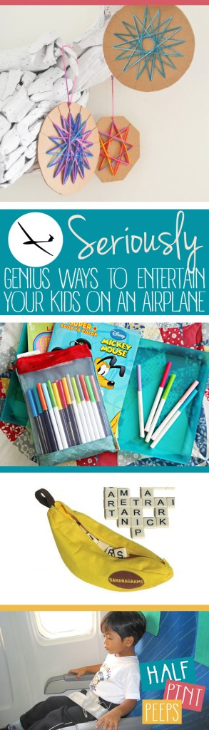 Seriously Genius Ways to Entertain Your Kids on An Airplane| Kid Stuff, Traveling With Kids, How to Travel With Kids, Travel Hacks, Travel Tips, Traveling 101. #Traveling #TravelingWithKids #KidStuff