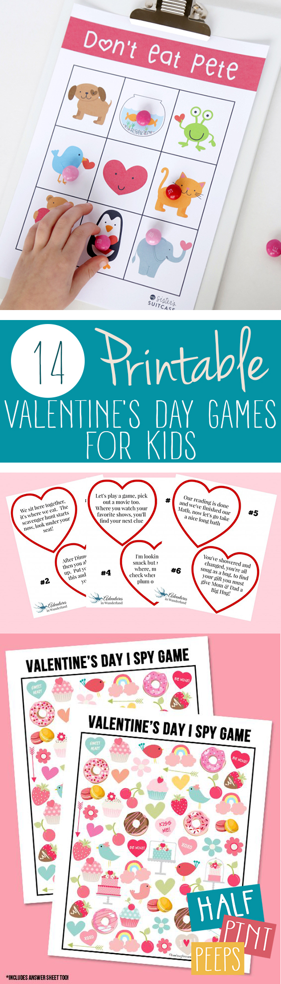 14 Printable Valentineu0027s Day Games For Kids| Printable Games, Printable  Games For Kids,