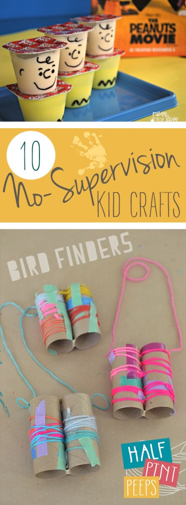 10 No-Supervision Kid Crafts| Kid Crafts, Kids, Kids Crafts Easy, Kid Crafts for Girls, Kid Craft for Boys, DIY Crafts,  DIY Crafts for Kids , Easy Crafts for Kids