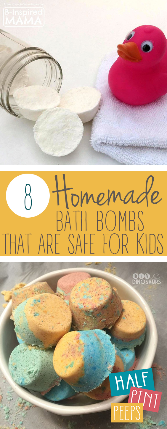 8 Homemade Bath Bombs That Are Safe For Kids