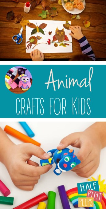 Animal Crafts | Animal Crafts for Kids | Holiday Animal Crafts for Kids | Crafts for Kids | Kids Crafts for the Holidays | Holiday Crafts