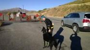 Bundled up at Little Del Reservoir