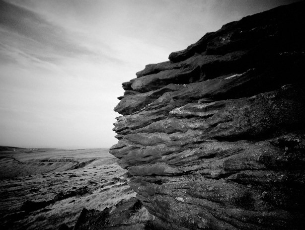 Photo of Sandstone cliffs - 'Millstone Edge'