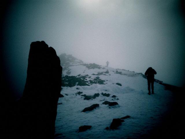 Snowdon Summit Monolith