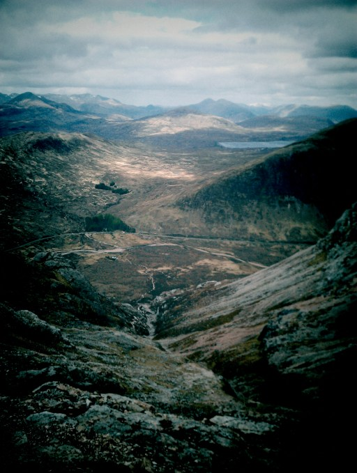 Views from Buchaille Etive Mor