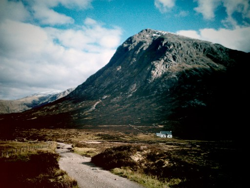 At the bottom of Buchaille Etive Mor