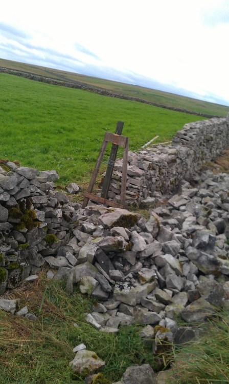 Dry Stone wall repairs